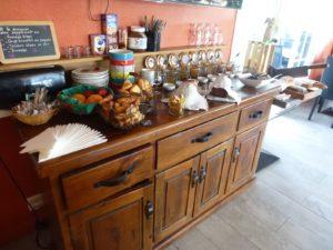 chambre d'hôtes petit-déjeuner