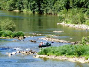 canoe riviere aveyron nature escapade