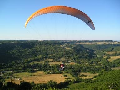 Lot of parapente
