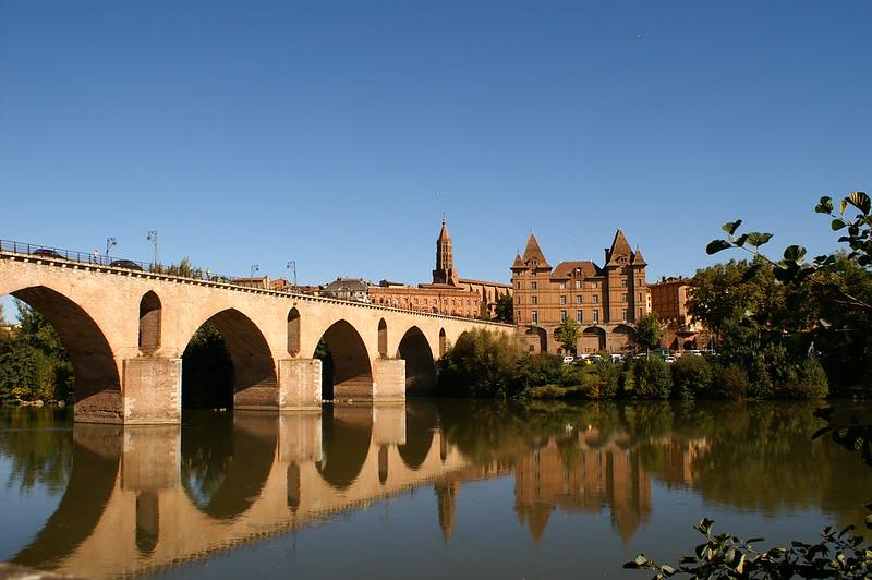 Pont vieux à Montauban