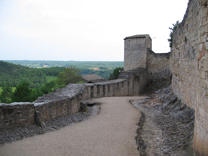 remparts de Puycelci