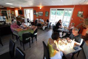 restaurant auberge cheminée Caussade Cahors