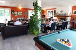 restaurant hébergement billard Caussade Cahors